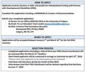 2018/2019 IPSE New Student Application