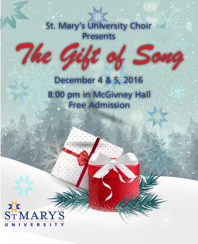 St. Mary\'s University Choir Presents: The Gift of Song - StMU