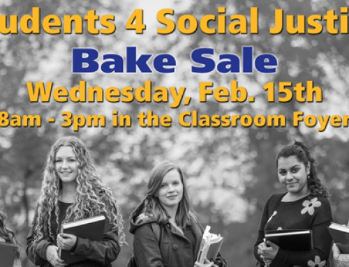 Students 4 Social Justice: Bake Sale in support of Sole Hope