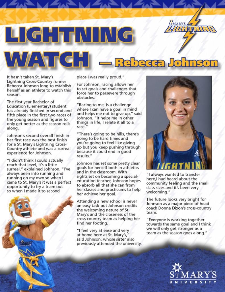 Lightning Watch - Rebecca Johnson