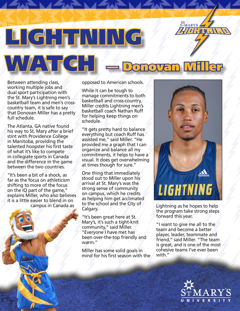 Lightning Watch - Donovan Miller