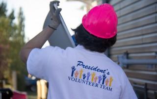 St. Mary's University StMU President's Volunteer Team