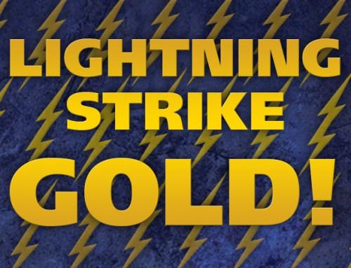 Lightning Women Strike Gold