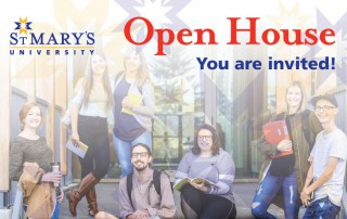 St. Mary's University StMU Open House: You are invited!