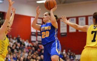 StMU Lightning Women's Basketball Montana Romeril