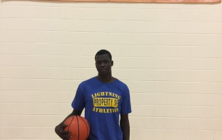 StMU Lightning Men's Basketball Wil Konybai