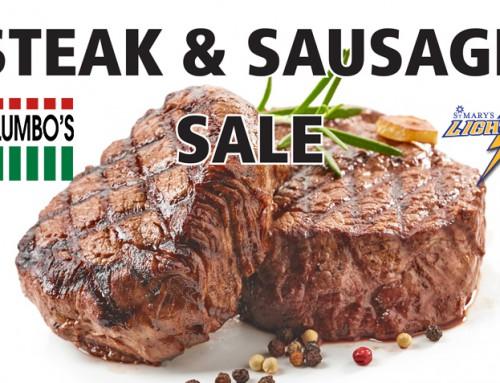 Steak & Sausage Sale!