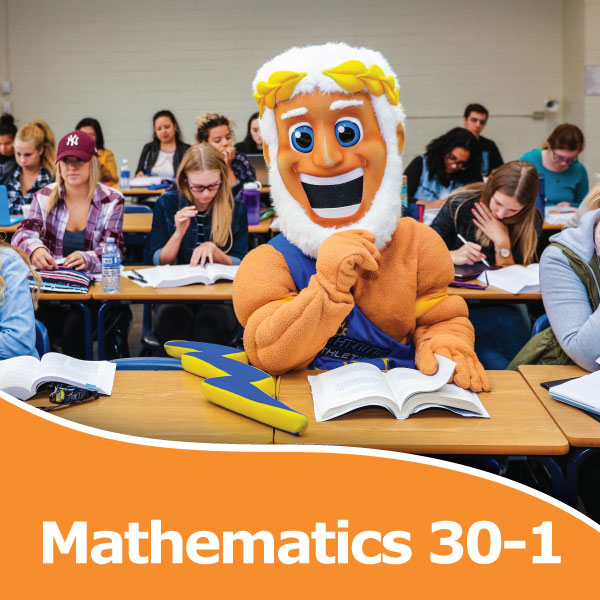 Are you missing Mathematics 30-1?