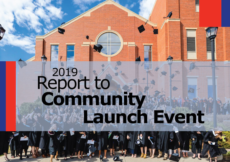 2019 Report to Community Launch Event