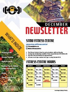 December Fitness Centre Newsletter