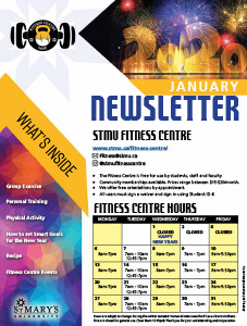 January 2020 Fitness Centre Newsletter