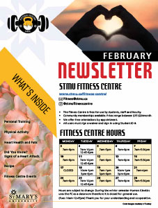 February 2020 Fitness Centre Newsletter