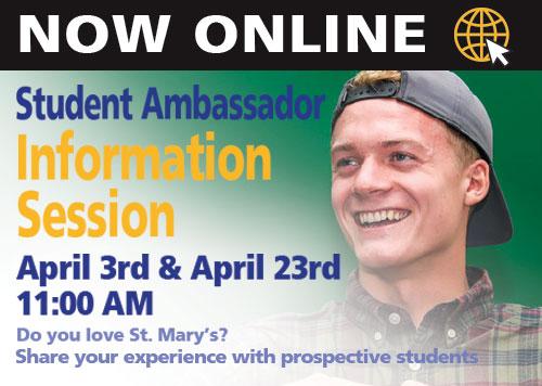 Student Ambassador Info Session