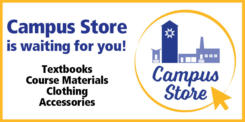 Visit the Campus Store online!