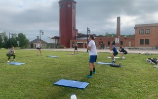 Dryland Training at St. Mary's University Campus