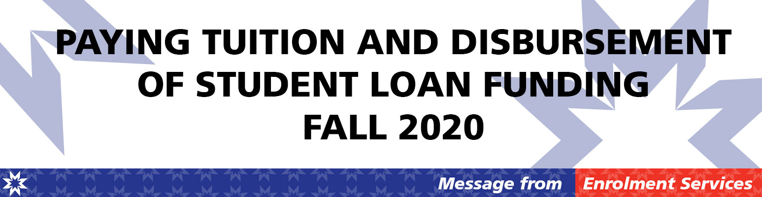 Tuition & Disbursemet Fall 2020