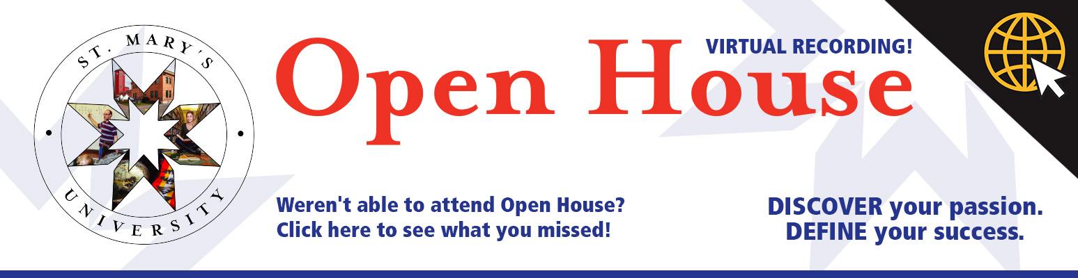Fall 2020 Open House Virtual Recording