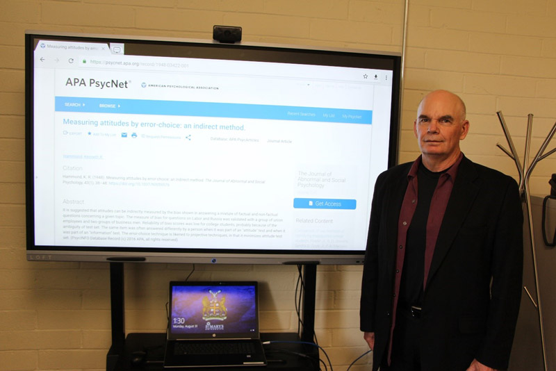 Dr. Ron Porter - Attitude Measurement Research
