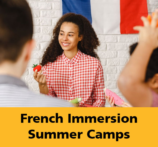 French Immersion Summer Camps (Grade 5-6)