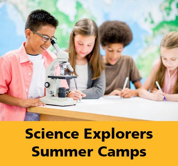 Science Explorers Summer Camps (Grade 5-6)