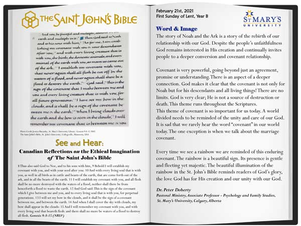 Canadian Reflections on the Ethical Imagination of The Saint John's Bible