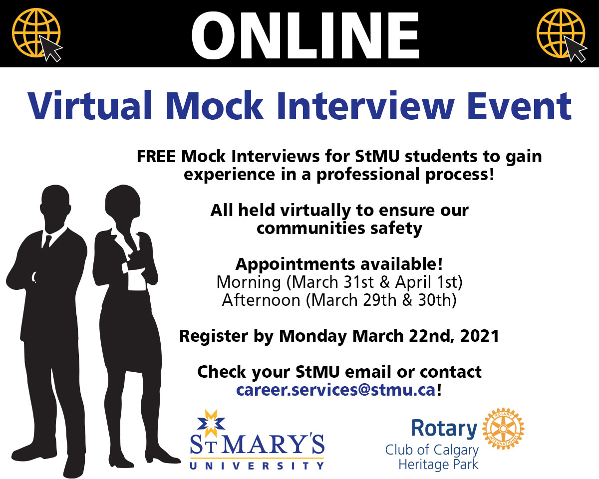 Virtual Mock Interview Event